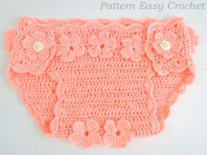 Crochet Diaper Cover Pattern Tutorial